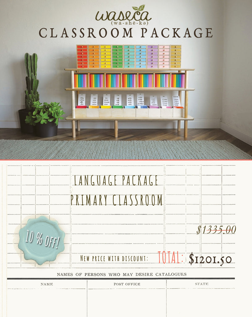 LANGUAGE PACKAGE-PRIMARY CLASSROOM-2019