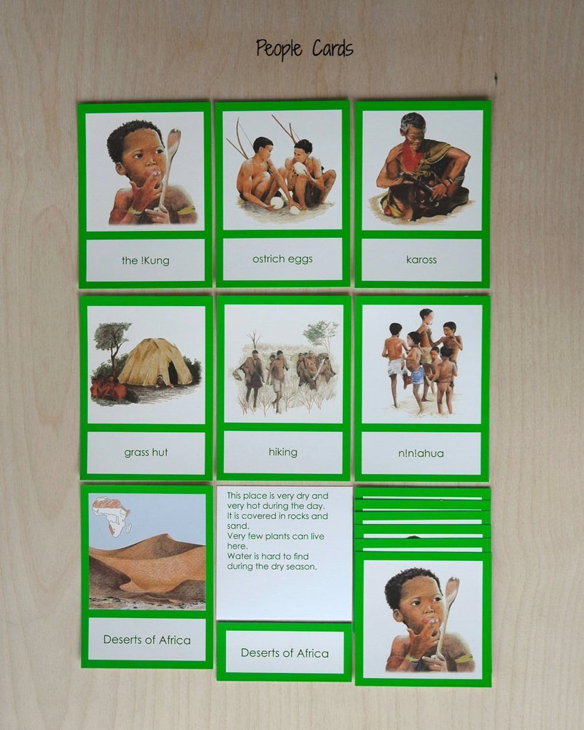 Africa Biome Cards-Primary-People