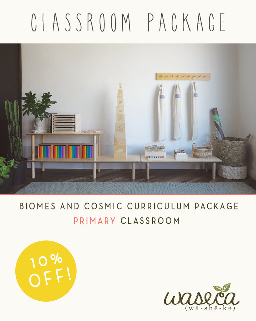 Biomes and Cosmic Curriculum Package-Primary