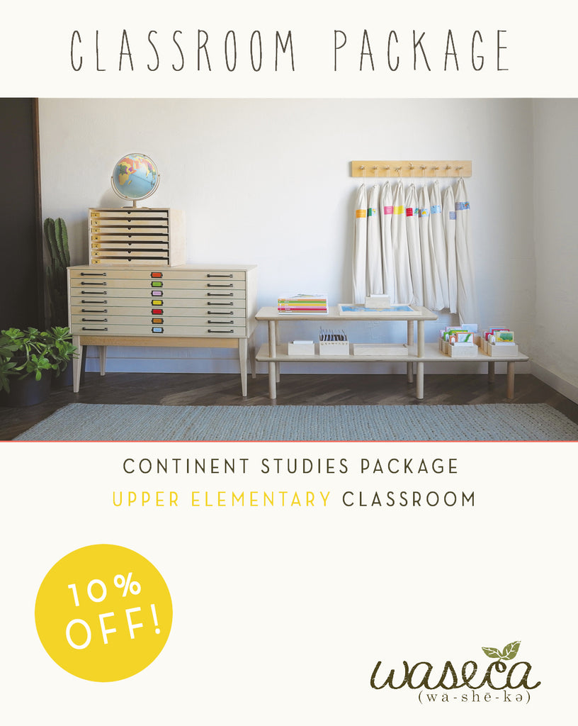 Continent Studies Package-Upper Elementary Classroom