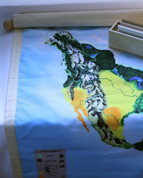 North America Biome Mat