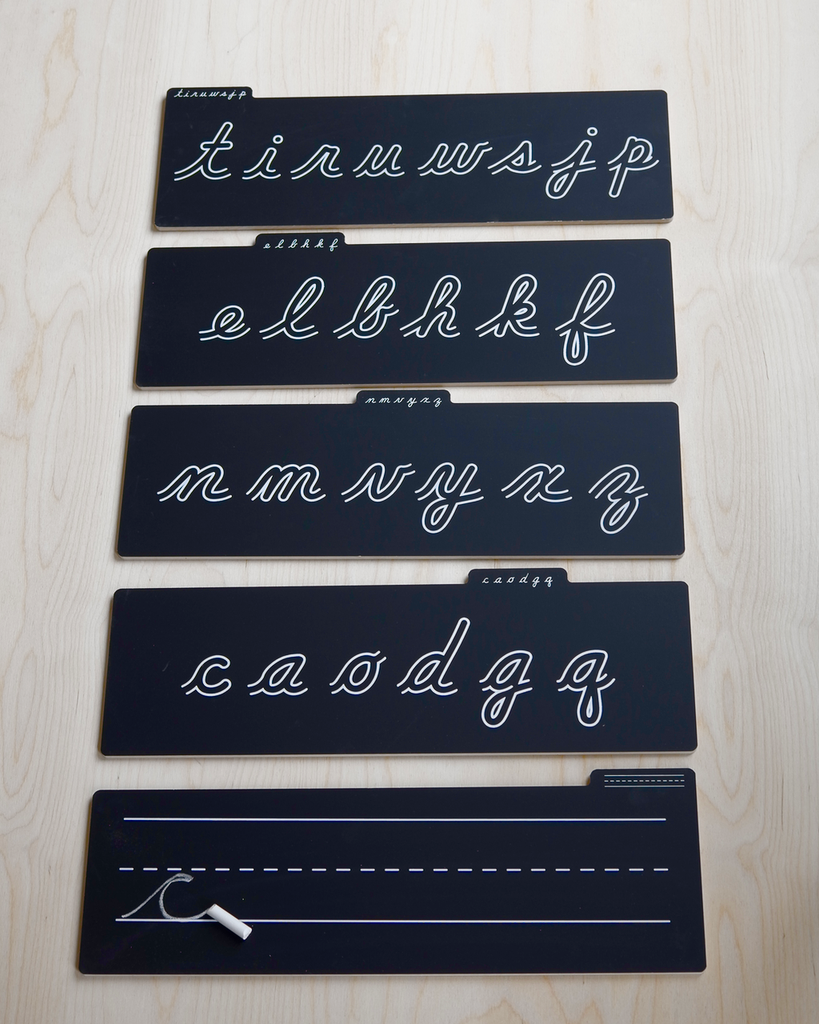 Cursive Boards-Chalk Board