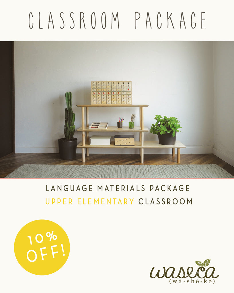 Language Package-Upper Elementary Classroom