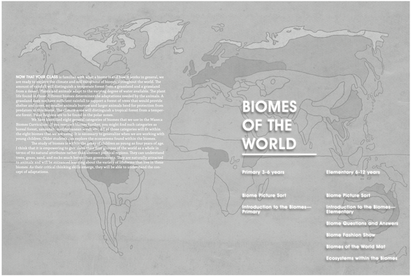 A Waseca Biomes Curriculum Guide