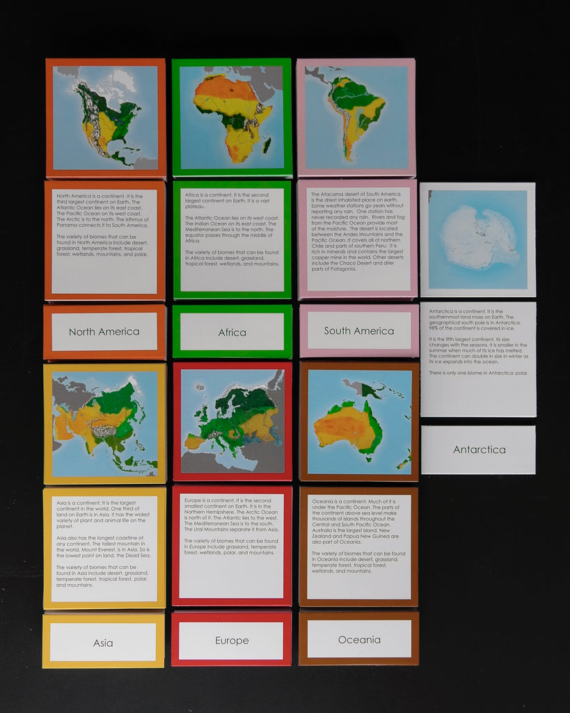 Complete Biome Cards-Elementary