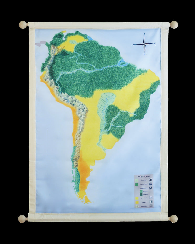 South America Biome Mat