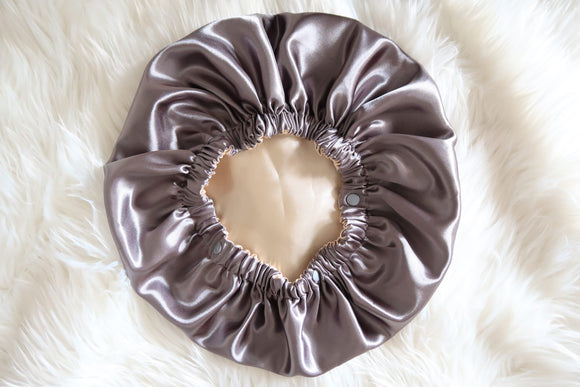 Bonnet de nuit en satin ADULTE
