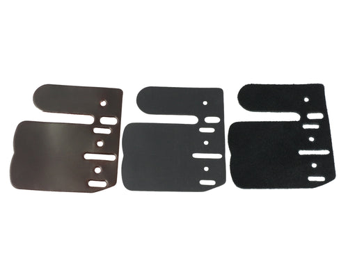 AXCEL Contour Finger Tab Leather Replacement Set