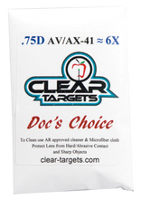 Load image into Gallery viewer, AV41 Clear Targets Doc's Choice Lens