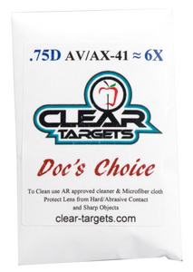 AV41 Clear Targets Doc's Choice Lens
