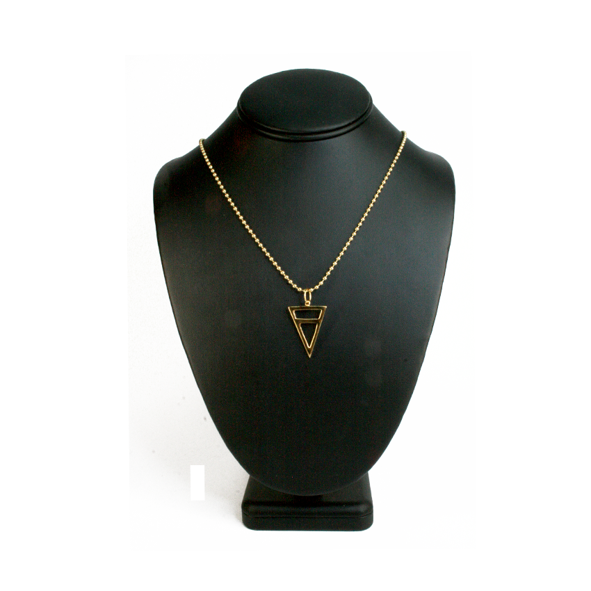 Half Triangle Necklace