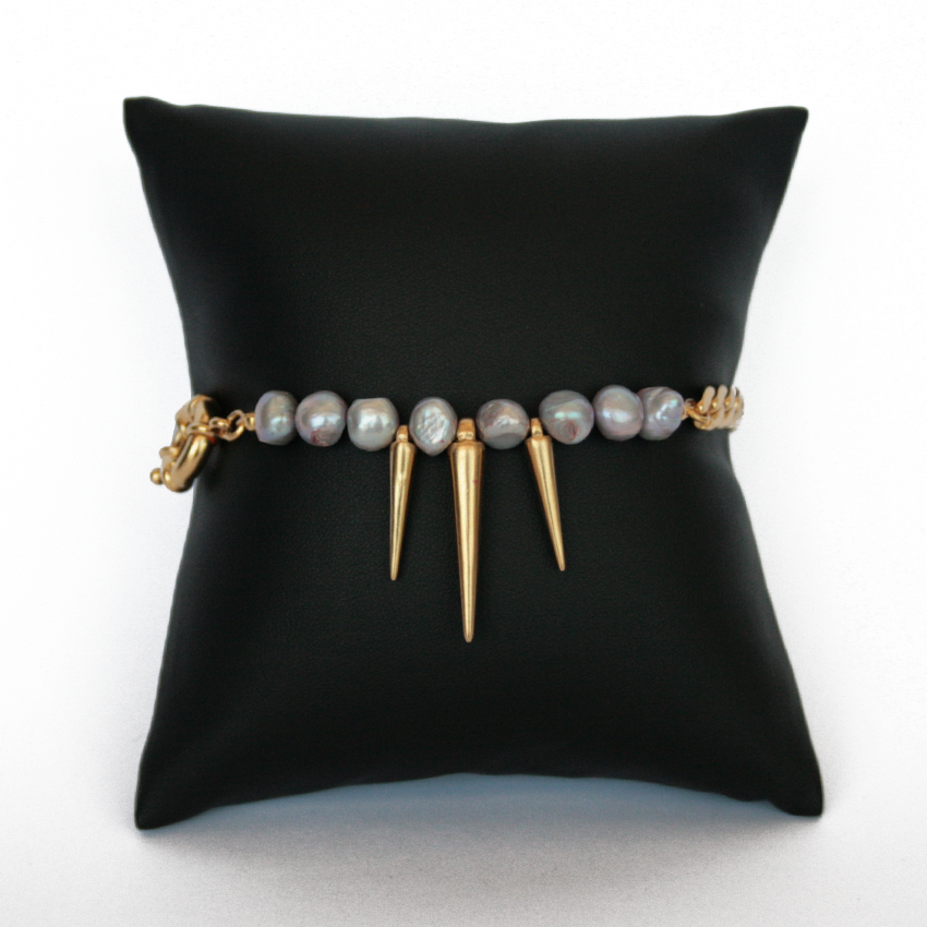 Drops and Pearls Bracelet