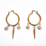 Drops and Pearls Earrings