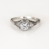 Audrey Vintage Engagement Ring