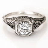 Ava Antique Engagement Ring