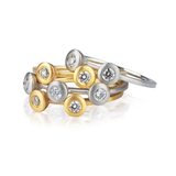 Dana David Cono Stack Ring Set of 3