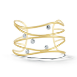 Dana David Scribble Ribbon Cuff