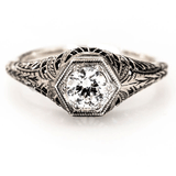 Isabella Vintage Engagement Ring
