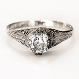 Juliet Antique Engagement Ring