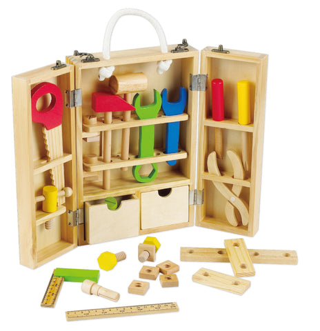 Wooden Carpenters Tool Kit