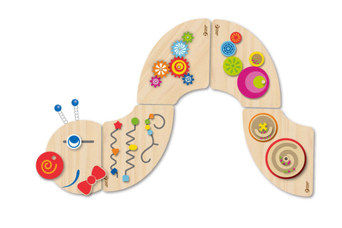 Caterpillar Multi Sensory Wall Panel Set