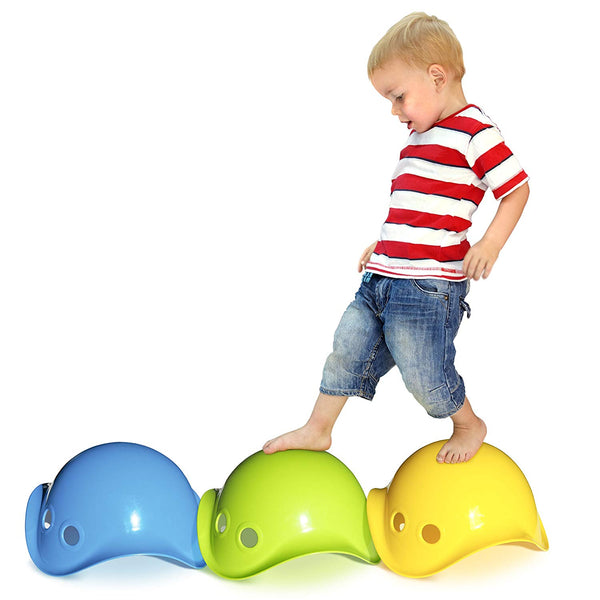 Bilibo - Spin, Wobble, Balance, Stack, Vestibular Toy