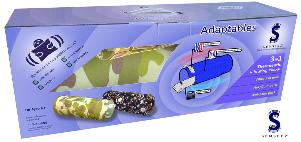 Senseez Camo - Hot, cold, vibration, pressure therapy  – Olive Tree Toys