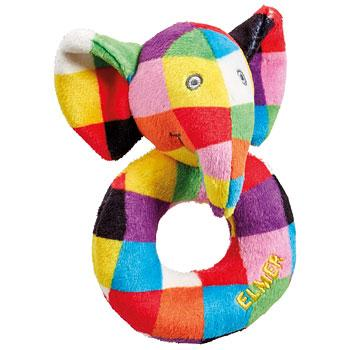 Elmer Soft Ring Rattle