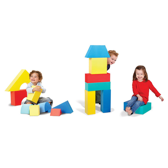 Soft Play Giant Foam Blocks Construction Toy