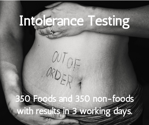 Full Intolerance Testing Package - 350+ Foods & 350+ Non Foods
