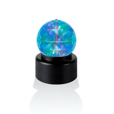 Rotating Crystal Kaleidoscope Disco Ball Light