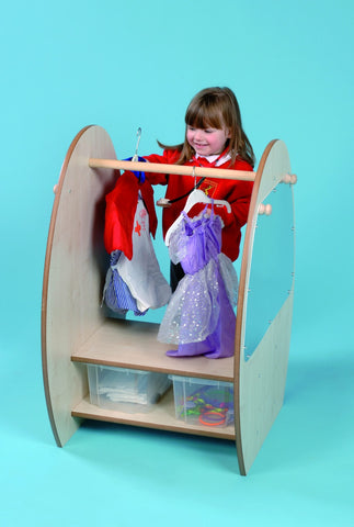 Mini Dress Up Trolley with Storage