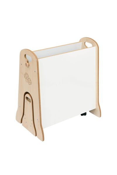 Reversible Mini Easel with Storage Trolley