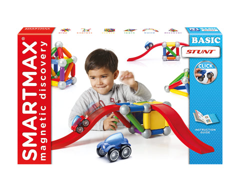 Smartmax Magnetic Basic Stunt Set