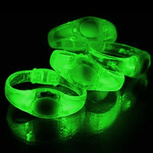 Sound Responsive LED Light up Bracelet - Various Colours