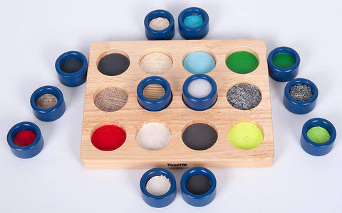 Touch and Match Tactile Wooden Sensory Board