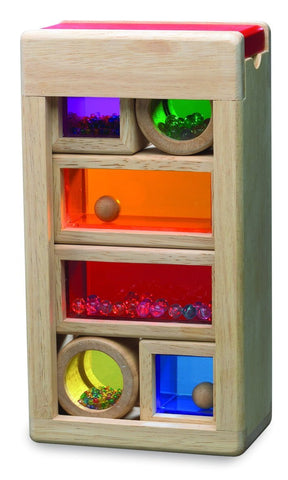 Rainbow Wooden Sound Blocks