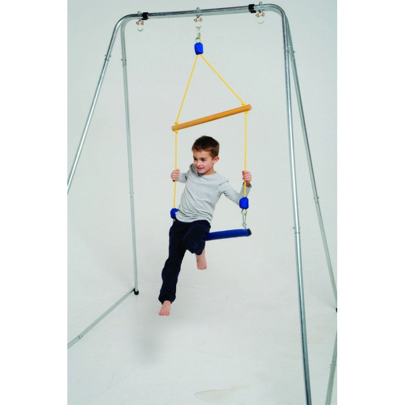 Double Trapeze Indoor Swing