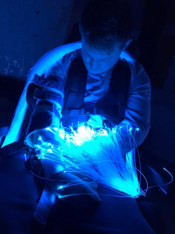 Fibre Optic Strands and Light Source Kit