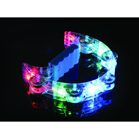 Flashing Illuminated Tambourine