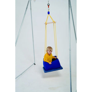 Small Platform With Padded Walls Indoor Swing