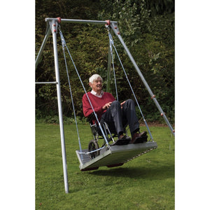 Wheelchair Platform and Swing Frame