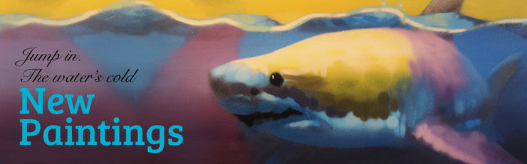 New shark painting