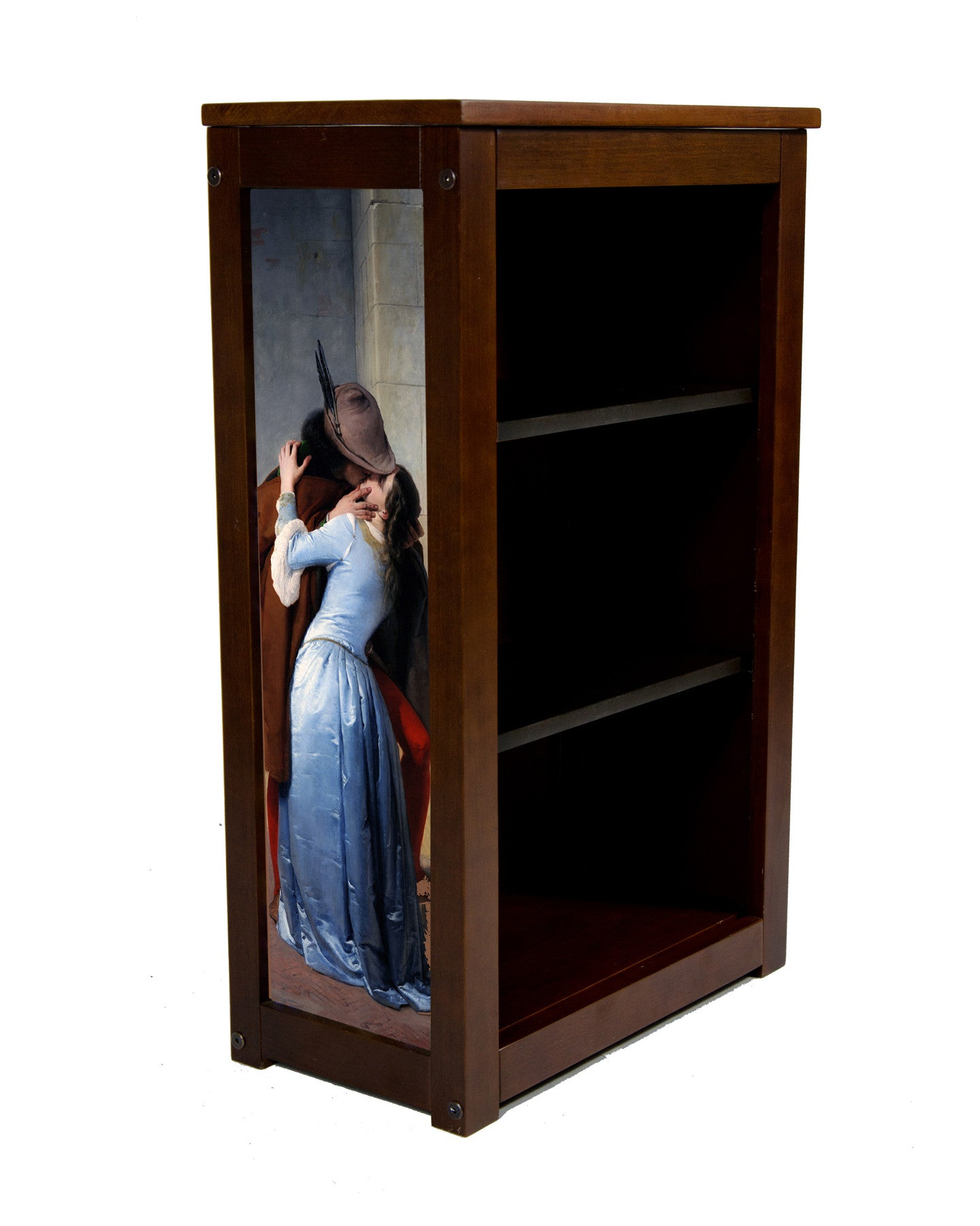 Book Cabinet called The Kiss by Francesco Hayez