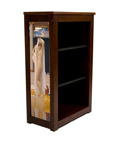 Bath of Psyche Book Cabinet by Frederick Lord leighton