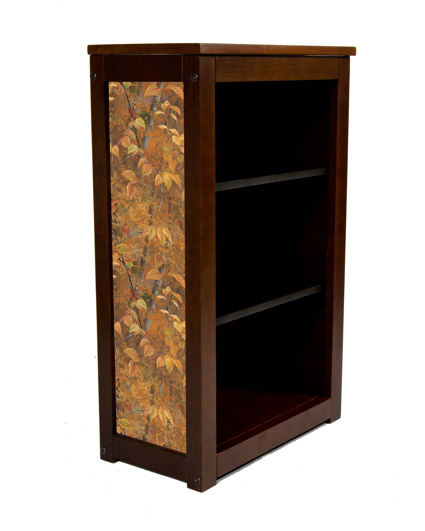 Book Cabinet-3 Shelf-Shades of Autumn Leaves-Millette