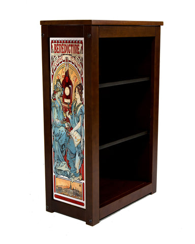 Benedictine Book Cabinet by Alphonse Mucha