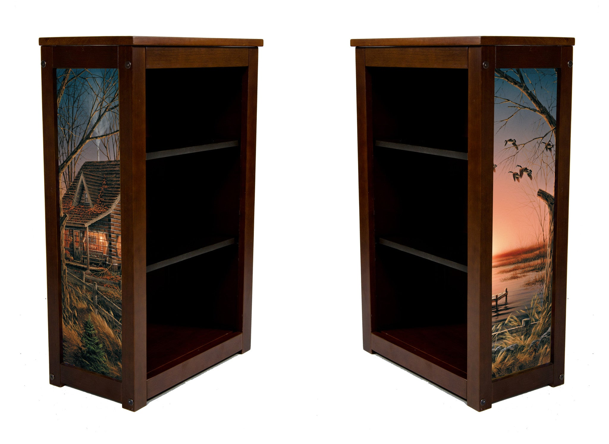 Terry Redlin Book Cabinet | Comforts of Home