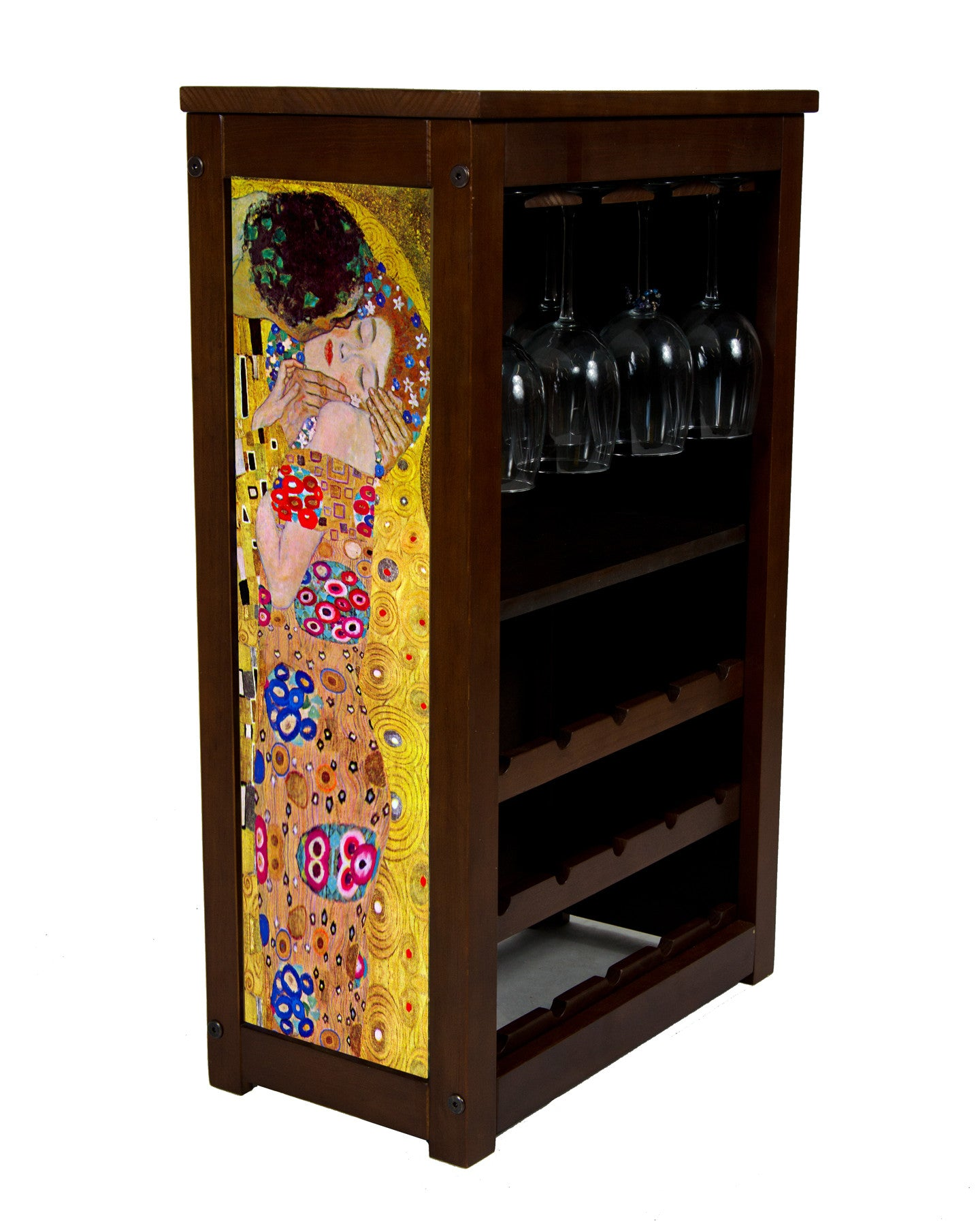 The Kiss Wine cabinet by Klimt