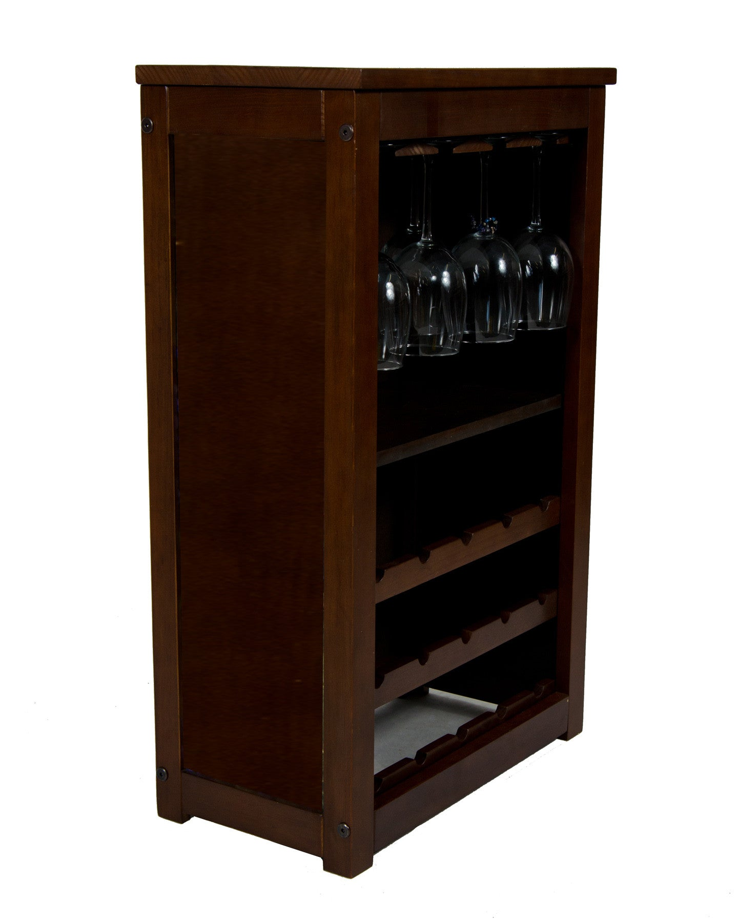 wine cabinet with all wood look
